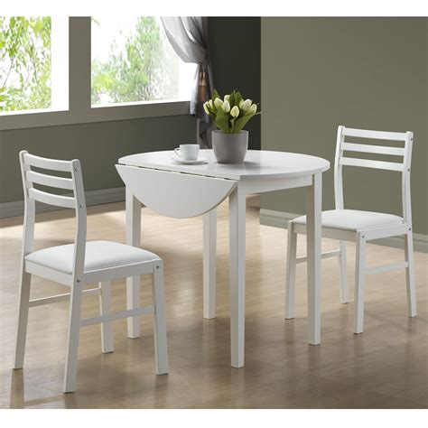 Cheap Kitchen Table Sets Canada by Monarch Specialties I 1008 3 Dining Table Set Lowe