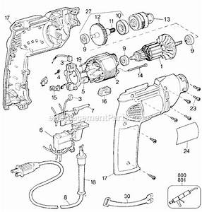 Black And Decker 1166 Parts List And Diagram
