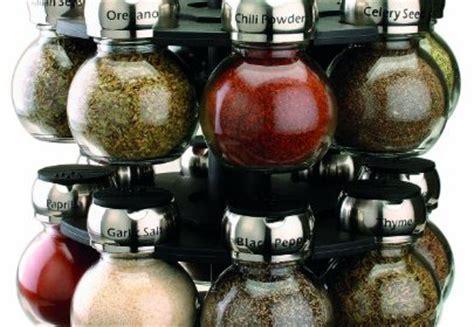 Olde Thompson 16 Jar Orbit Spice Rack by Olde Thompson 16 Jar Labeled Orbit Spice Rack Jars Rack