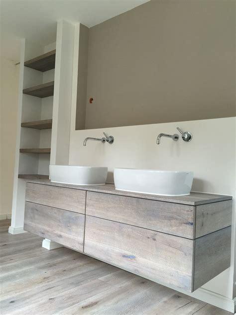 Badezimmer Unterschrank Maritim by Waschtischunterschrank In Eiche Massivholz Vintage Look