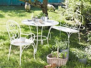 fer forge la touche retro de votre mobilier de jardin With couleur de maison tendance exterieur 1 9 clatures de bord de mer