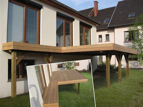kit terrasse bois terrasse en bois sur pilotis en kit prix nos conseils