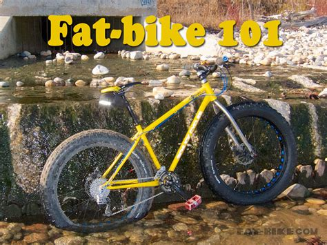 Fat-bike 101 Intro