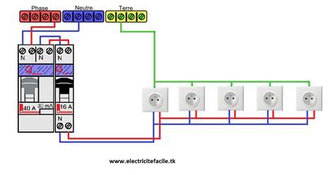 hauteur prise de courant chambre installation des prises electriques au norme schema