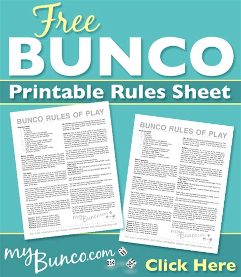 The rules may look a bit intimidating at first, but the game really is simple to understand and play after a few hands. Free Printable Bunco Rules Sheet • My Bunco | Bunco rules, Family card games, Family game night