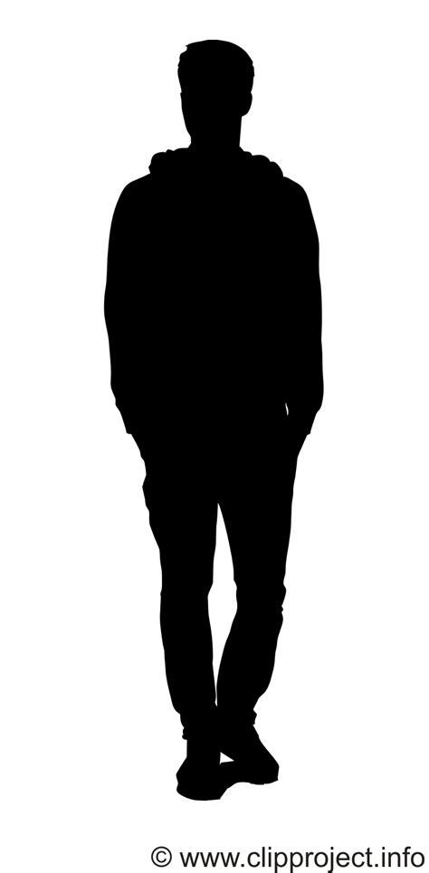 man black silhouette svg