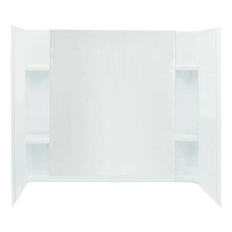 bathtub wall set sterling accord 32 in x 60 in x 74 in 3 direct to