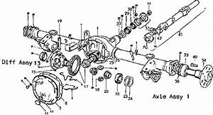 Delta Motorsports Parts Catalog  Rear Axle