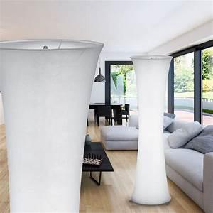 Lampen Flur Diele : design standleuchte aus textil in wei mit trittschalter lampen m bel r ume diele flur ~ Sanjose-hotels-ca.com Haus und Dekorationen