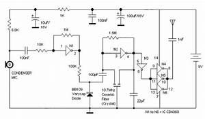 Logic Gates Fm Transmitter Circuit