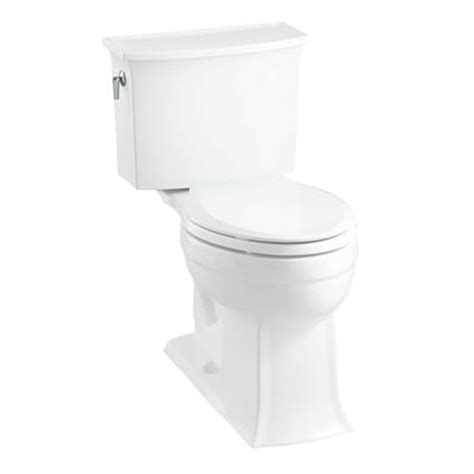 kohler archer the complete solution elongated toilet in white home depot canada ottawa