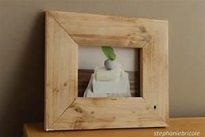 Cadre A Faire Soi Meme : diy id e d co faire soi m me un cadre r cup avec du bois de palettes st phanie bricole ~ Nature-et-papiers.com Idées de Décoration