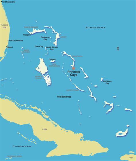 jamaica cruise ports princess cays bahamas