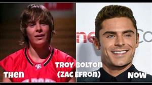 High School Musical Cast - Then And Now 2017 - YouTube