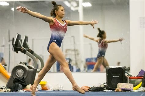 st paul hmong american gymnast leaps   olympic