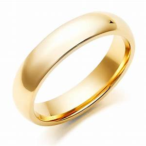 Men39s gold wedding rings cherry marry for Mens wedding ring gold