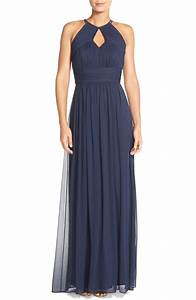 160 best navy blue bridesmaid dresses images on pinterest With navy blue dress for wedding
