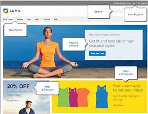 magento homepage template - design magento 2 homepage layout