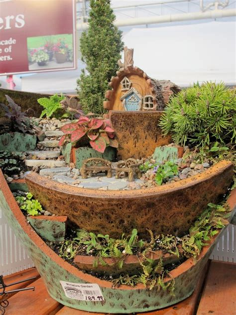 17 Best Images About Fairy & Miniature Gardens On
