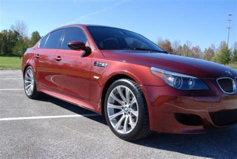 Sell Used 2007 Bmw M5 V10 *rare Indianapolis Red In