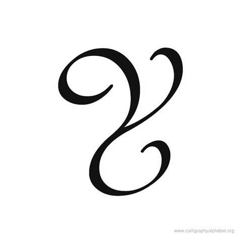 Calligraphy Alphabet Y  Alphabet Y Calligraphy Sample Styles
