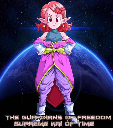TGoF Poster Supreme Kai Of Time By WOLFBLADE On DeviantArt