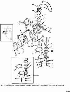 Mercury Marine 20 Hp  2 Cylinder  Carburetor  20    25