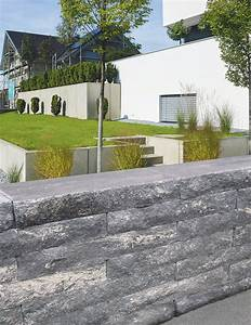 Garten Mauern Steine : gartengestaltung mit system mauern vertikales gestaltungselement f r den garten ~ Markanthonyermac.com Haus und Dekorationen