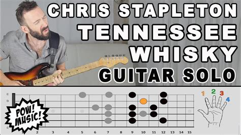 Tennessee Whisky Guitar Solo