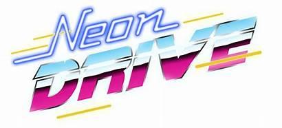 Neon Arcade Drive Games 80s Retro Signs