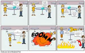 Science Lab Safety Cartoons