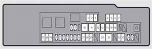 Lexus Gs250  2012  - Fuse Box Diagram