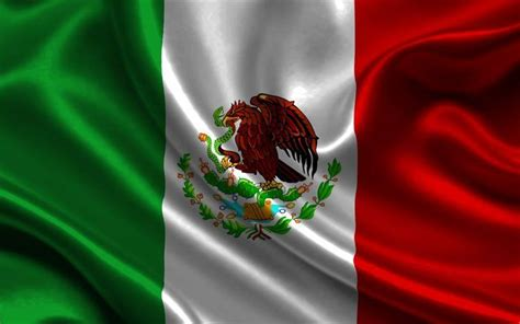 wallpapers mexican flag  silk flag  mexico