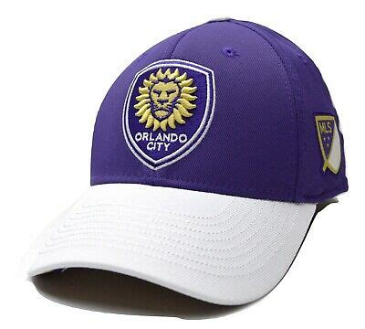 Orlando City SC Adidas M619Z MLS Soccer Team Logo Flex Fit ...