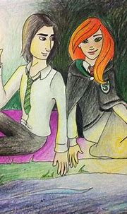 Pin on Lily and Severus Snape