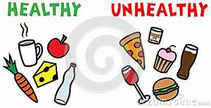 healthy-unhealthy-food-drinks- ... | Clipart Panda - Free ...