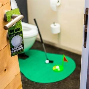 Cadeau Rigolo À Moins De 5 Euros : set da golf da bagno troppotogo ~ Melissatoandfro.com Idées de Décoration