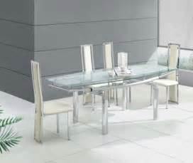 green glass dining table
