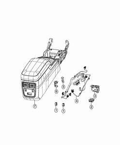 Chrysler 300 Wiring  Console  Trim   No Description Available
