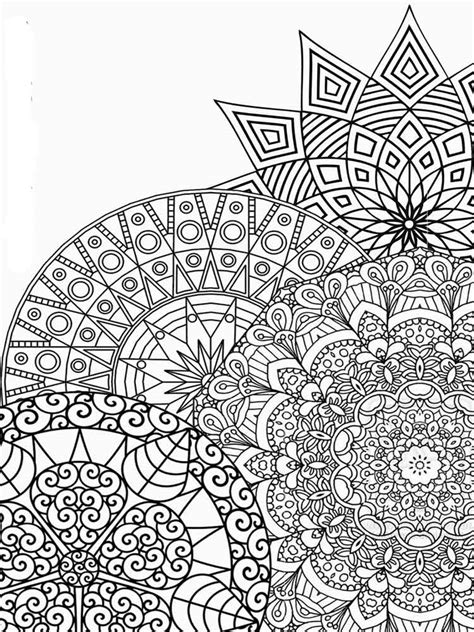 detailed coloring pages  adults  printable