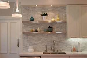 Awesome ikea hack of the week sexy metallic floating shelves for Kitchen colors with white cabinets with contemporary framed wall art