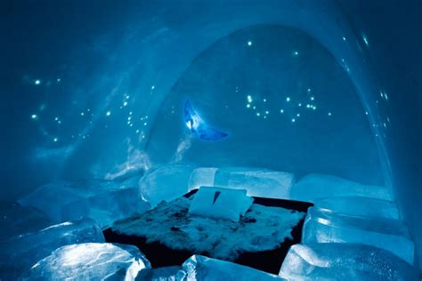 worlds  ice hotelswhere  rooms   cold    beautiful