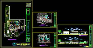 Residential House DWG Section for AutoCAD • Designs CAD