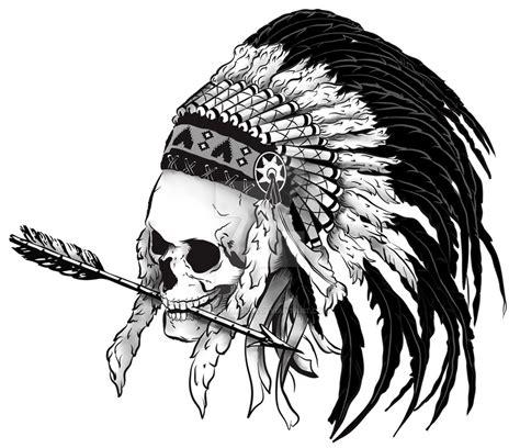 Feather Artwork by Indian Skull By Despairlegion On Deviantart