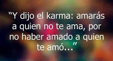 karma quotes  spanish quotesgram