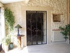 porte d39interieur en fer forge vitree of ironworks With porte d entrée alu avec architecte d intérieur petite salle de bain