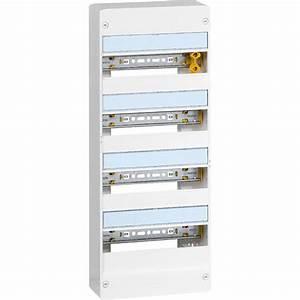 Tableau Electrique 4 Rangées : tableau lectrique nu legrand 4 rang es 52 modules leroy ~ Dailycaller-alerts.com Idées de Décoration