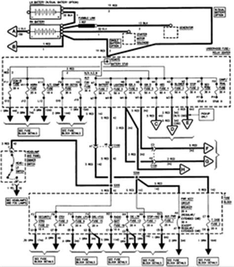silverado fuse block diagram fixya