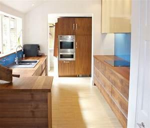 Griffe Küche Holz : grifflose k che im modernen stil wenn weniger mehr ist ~ Markanthonyermac.com Haus und Dekorationen