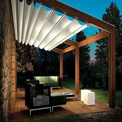 ideas pergola retractable canopy